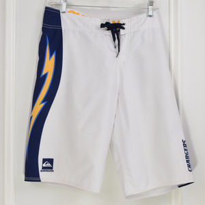 Quicksilver Chargers Football Board Shorts Men 30